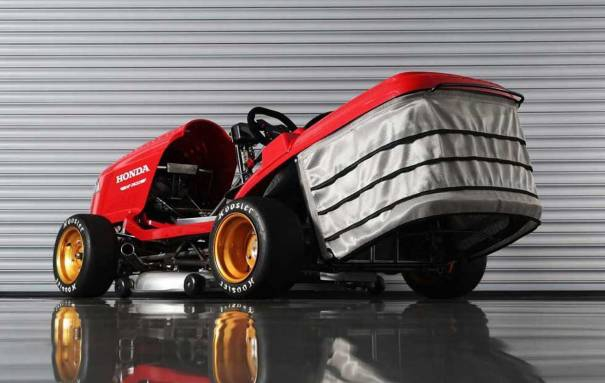 Photo of Honda Mean Mower V2 hits 100 mph in 6.2-seconds