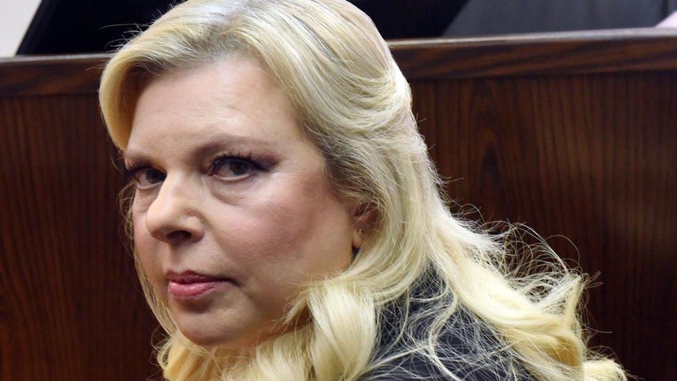 Photo of Benjamin Netanyahu's wife Sara admits misusing public funds