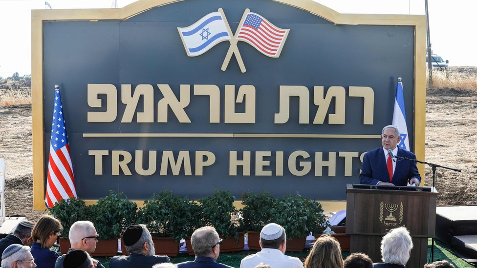 Photo of Golan Heights: Israel unveils 'Trump Heights' settlement