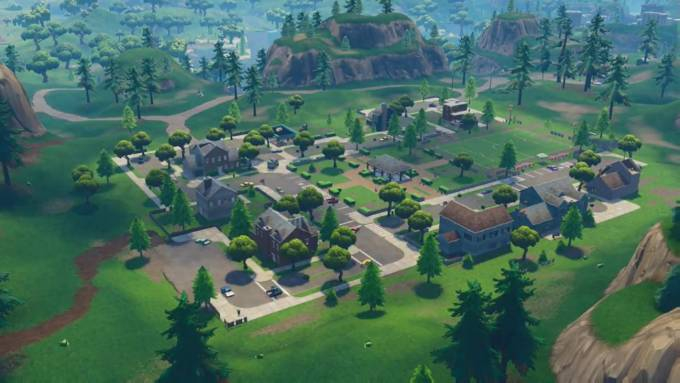 Photo of An ominous blemish has appeared in Fortnite's Pleasant Park