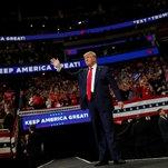 Trump 2016 Returns, This Time as Nostalgia Act