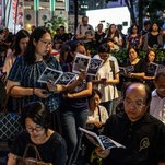Photo of With Hymns and Prayers, Christians Help Drive Hong Kong's Protests