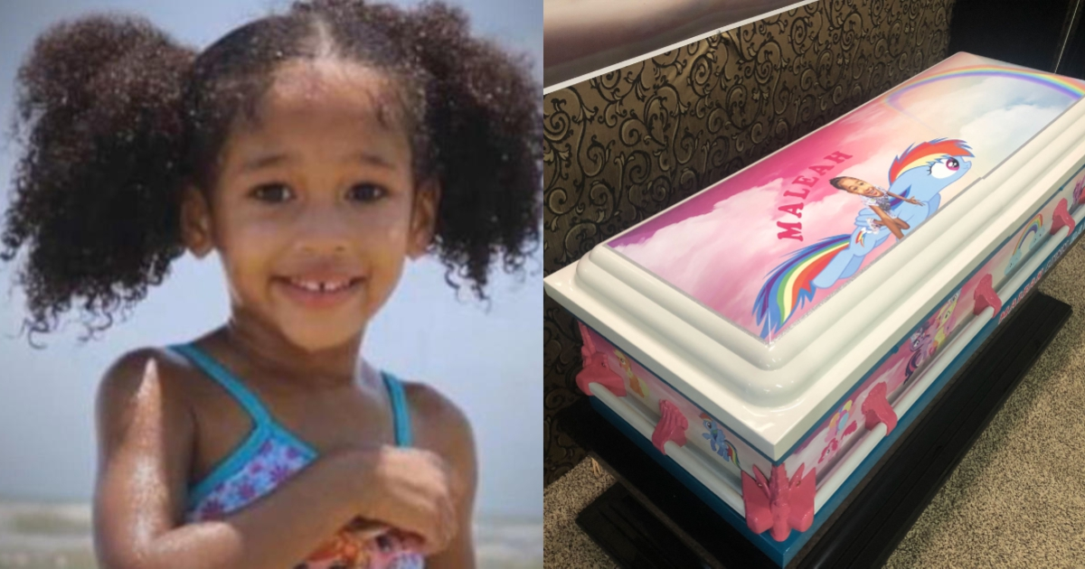 "Photo of ""My Little Pony"" casket donated for Maleah Davis' funeral"