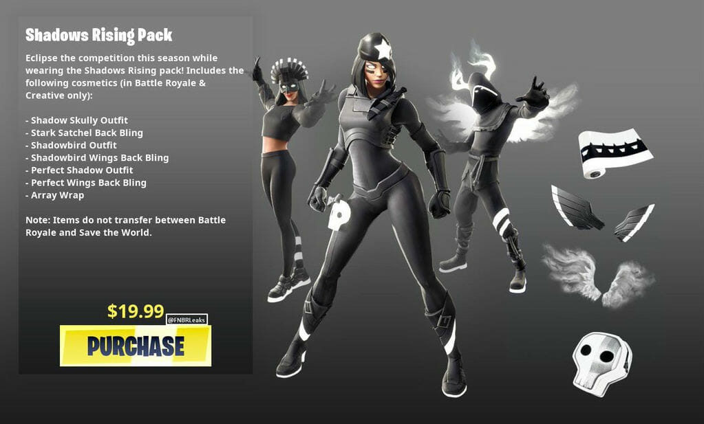 Photo of How to get the Fortnite Shadows Rising skin bundle