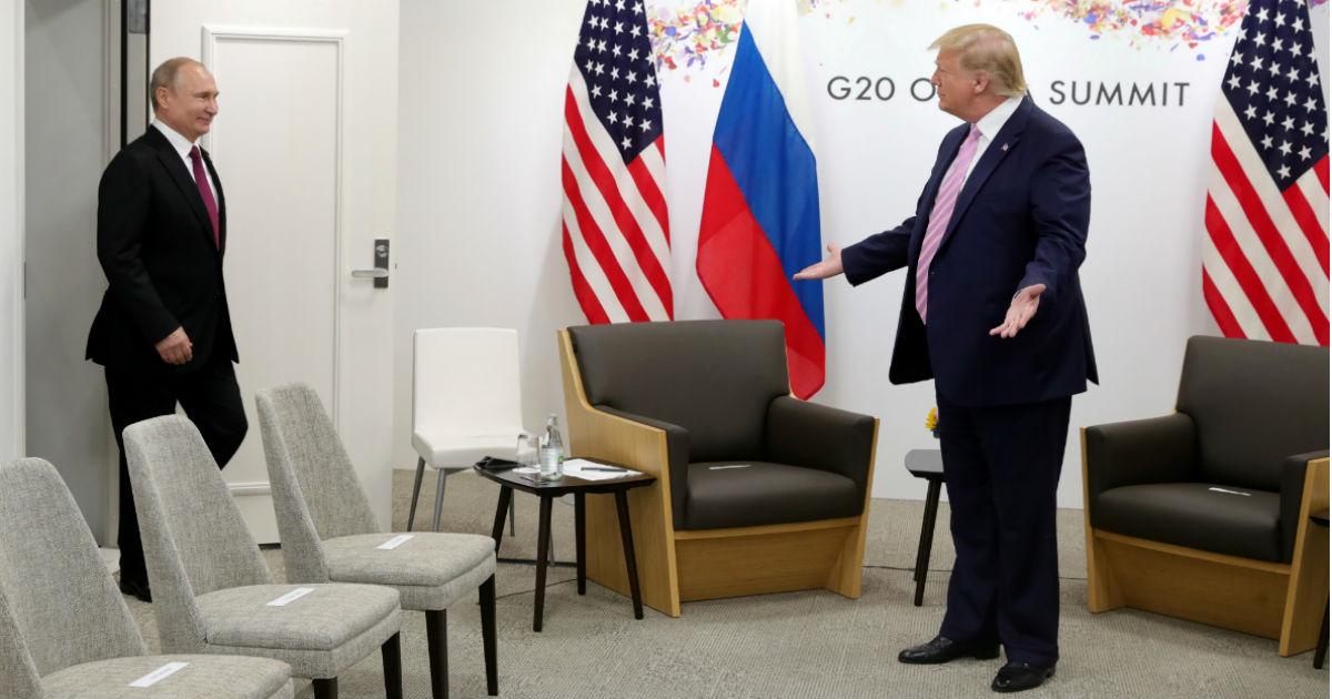 """Фото """"Очень глупо"""". Как Путин встретился с Трампом. ФОТО с саммита G-20"""