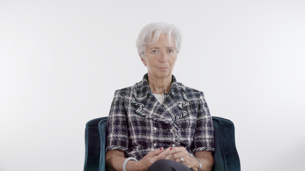 Photo of IMF chief: 'When it's bad, you call women to the rescue'