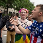 Far-Right Groups Face Off With Counterprotesters in Washington