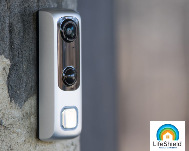 Photo of ADT's LifeShield launches HD Video Doorbell for $200