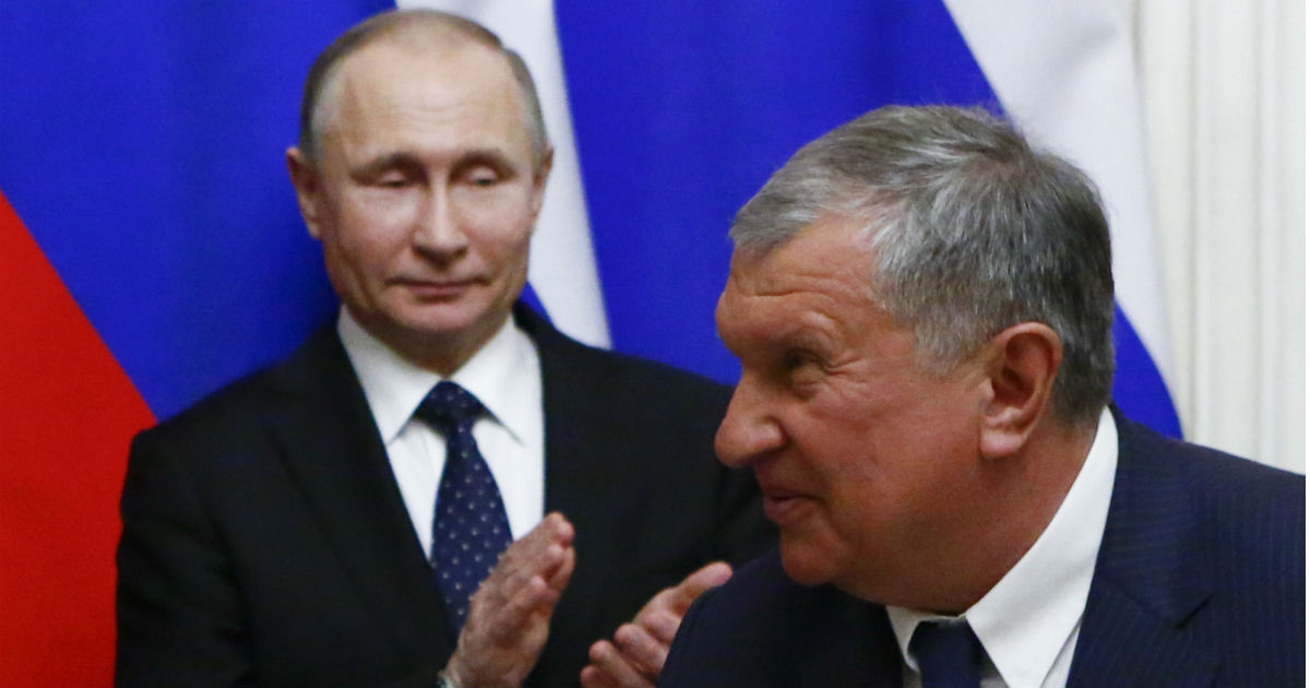Фото Сечин просит у Путина налоговые льготы на 2,6 триллиона. Зачем ему?