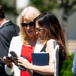 Trump's Aides, Not Eager to Defend His Tweets, Also Don't Condemn Them