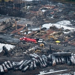 A Runaway Train Explosion Killed 47, but Deadly Cargo Still Rides the Rails