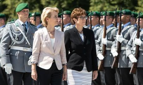 Photo of Merkel protege AKK given defence job seen as poisoned chalice