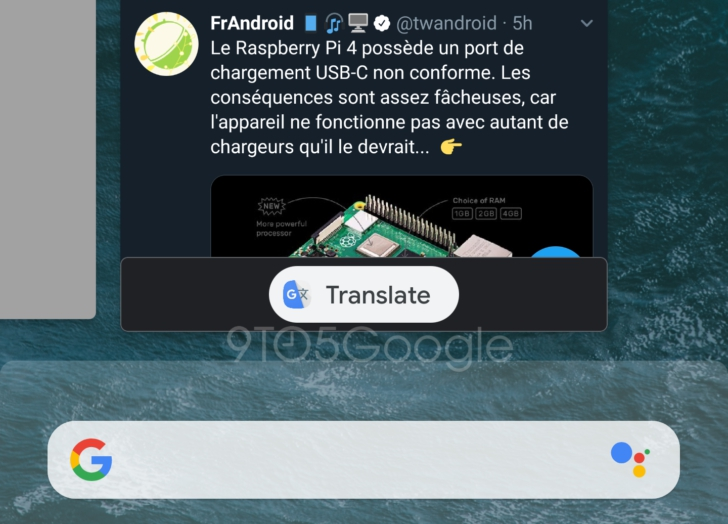 Photo of Android Q could offer to translate app previews in the Recents screen