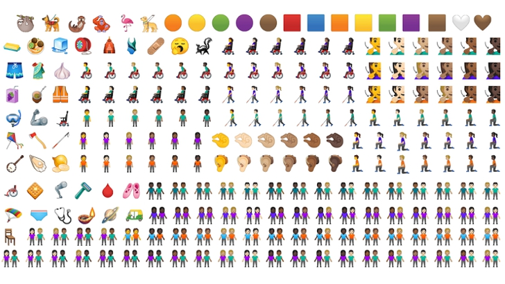 Photo of Google shows off its new emoji designs that will debut with Android Q