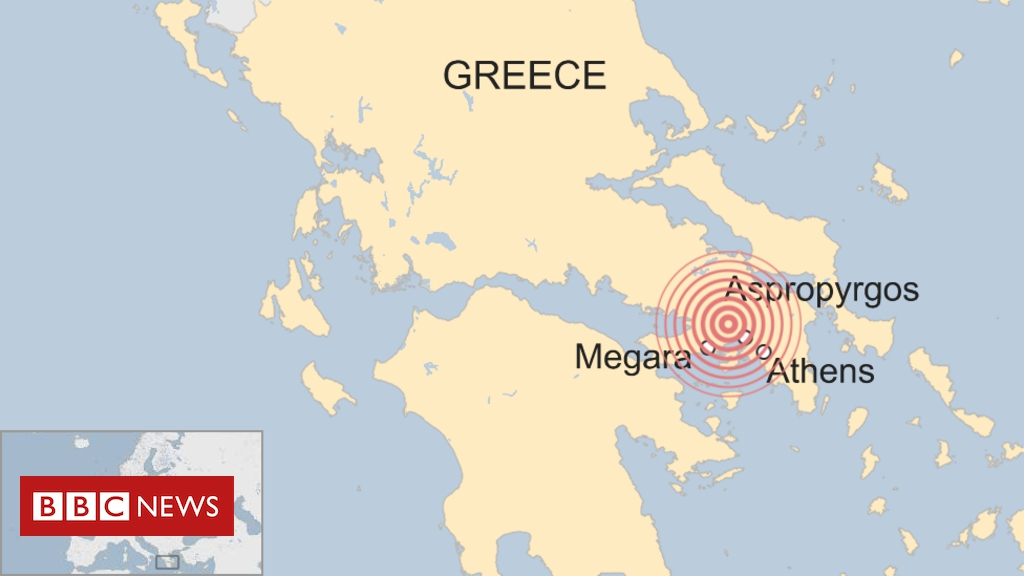 Photo of Greek earthquake: Buildings collapse as powerful tremor shakes Athens