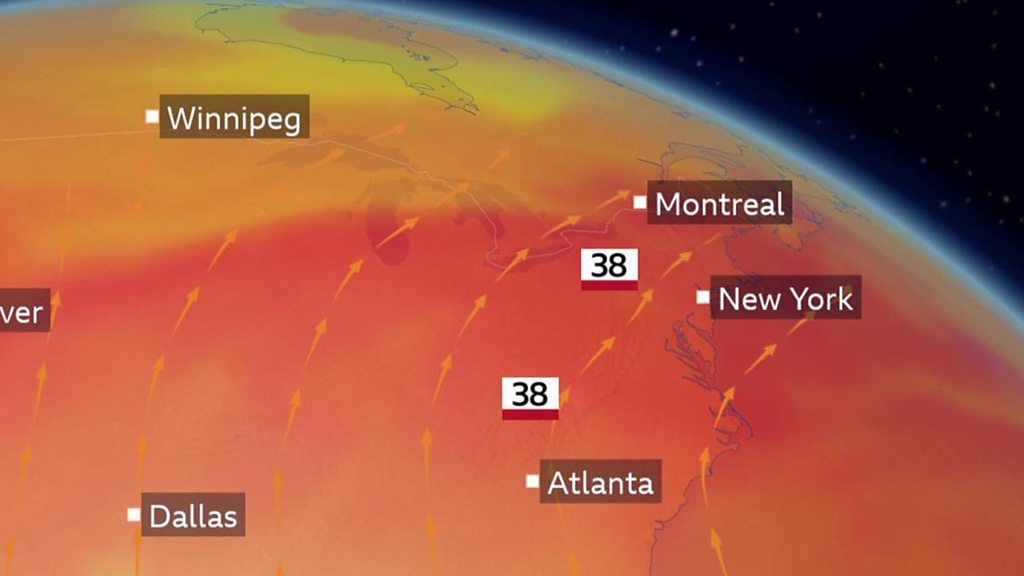Photo of Dangerous heatwave starts hitting US and Canada