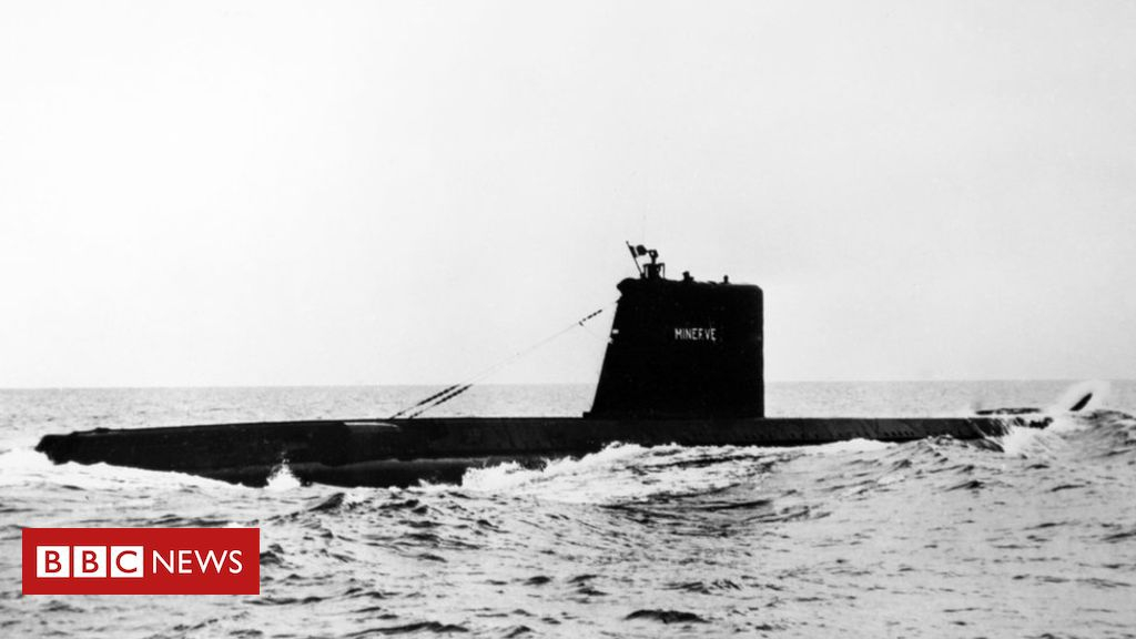 Photo of French Minerve submarine is found after disappearing in 1968