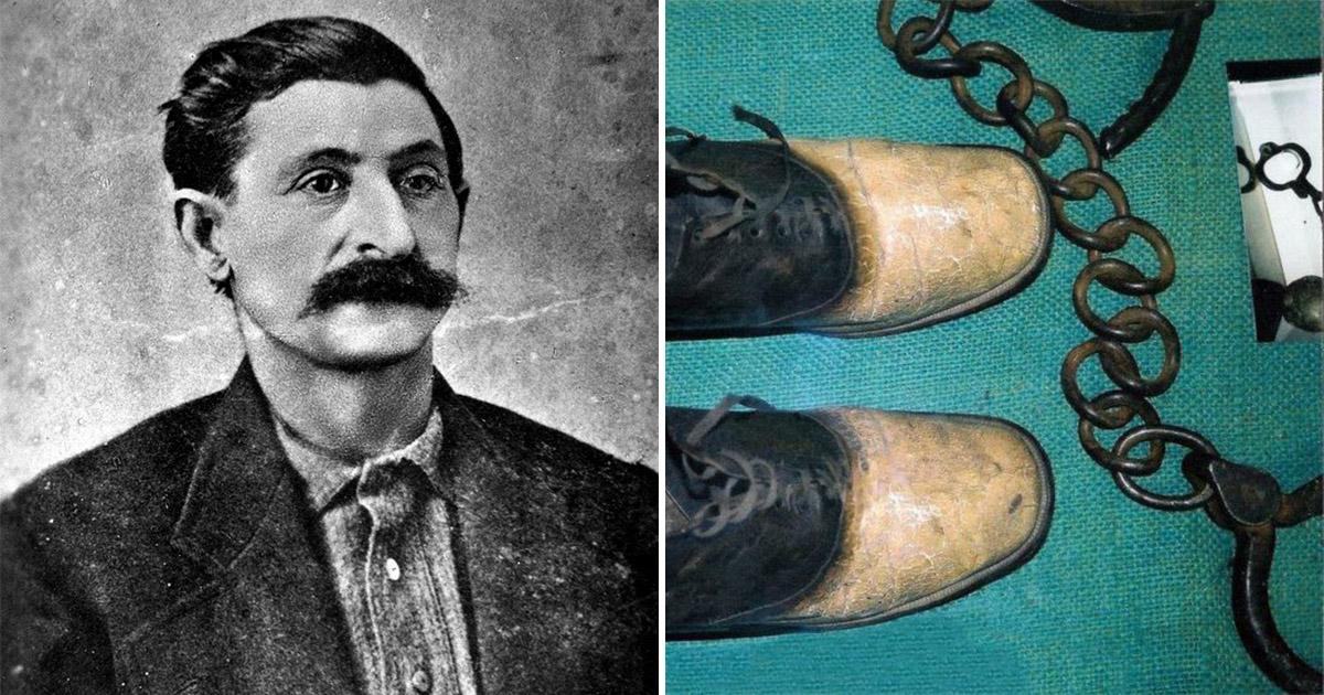 Фото Обувь из человеческой кожи и грабитель с самым большим носом на Диком Западе