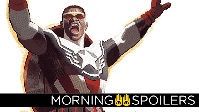 Photo of Anthony Mackie Teases Getting Suited Up as Captain America