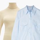 Комбо: Рубашка с водолазкой
