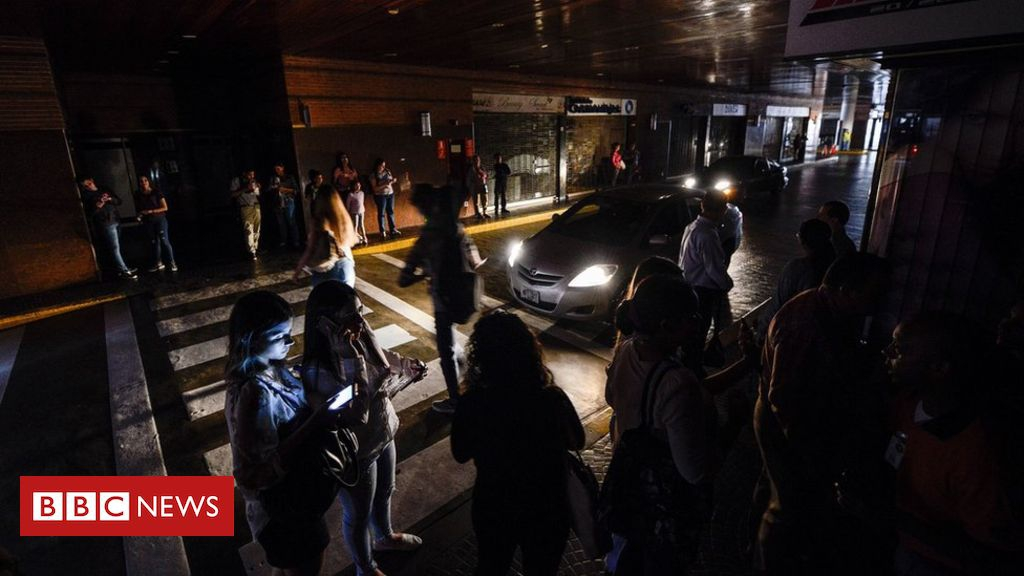 Photo of Venezuela blackout: Power cuts plunge country into darkness