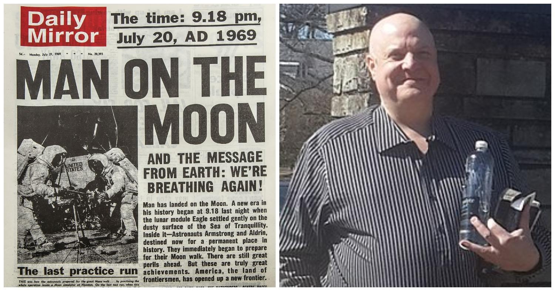 Любитель конспирологии настаивает, что американцы не высаживались на Луну