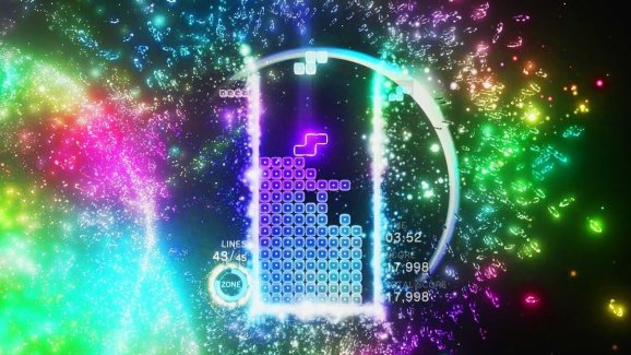 Photo of Tetris Effect PC has some quirks, and I don't care because 144Hz ultrawide