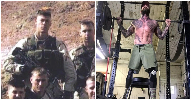 Остался без ноги. Как бывший военный стал тату-моделью