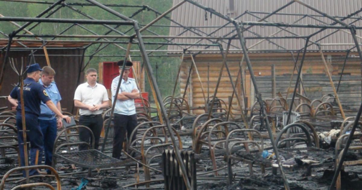 Фото Суд вынес решение по директору палаточного лагеря, где сгорели дети