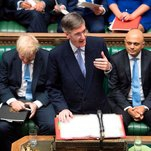 Jacob Rees-Mogg, New U.K. Minister, Greets Staff With an Imperial Edict