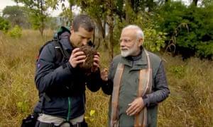 India's strongman PM: Modi to appear on Bear Grylls' Man vs Wild