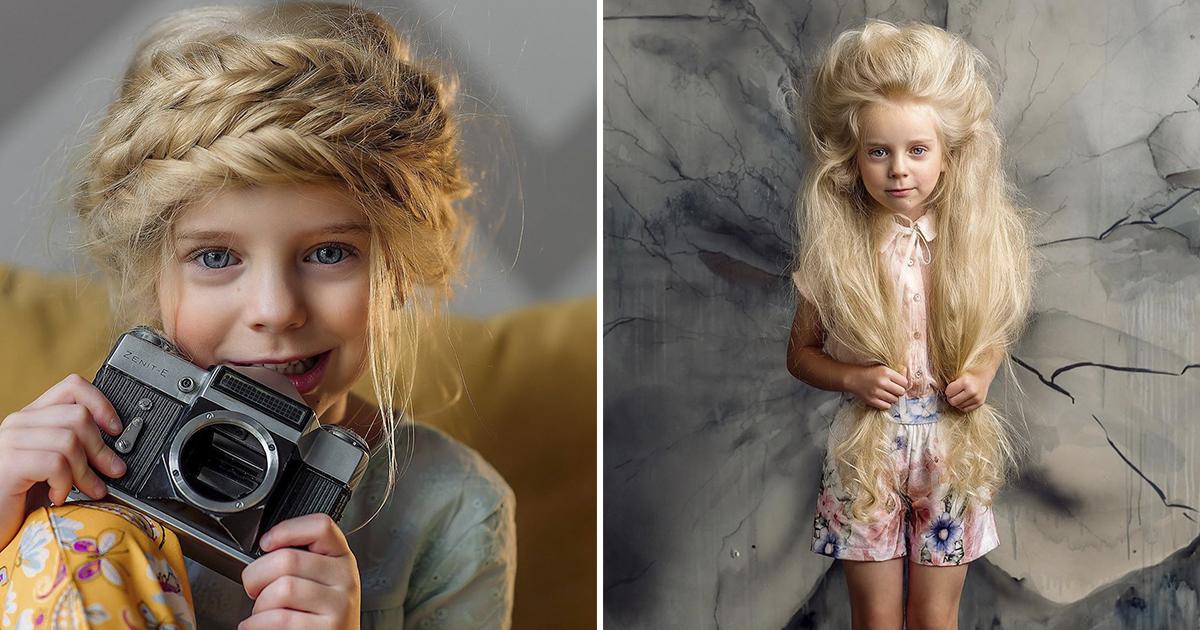 Фото Милоты пост. Пятилетняя модель в образах диснеевских принцесс