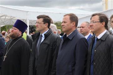 Фото Дмитрий Азаров принял участие в торжествах по случаю 265-летия Серафима Саровского