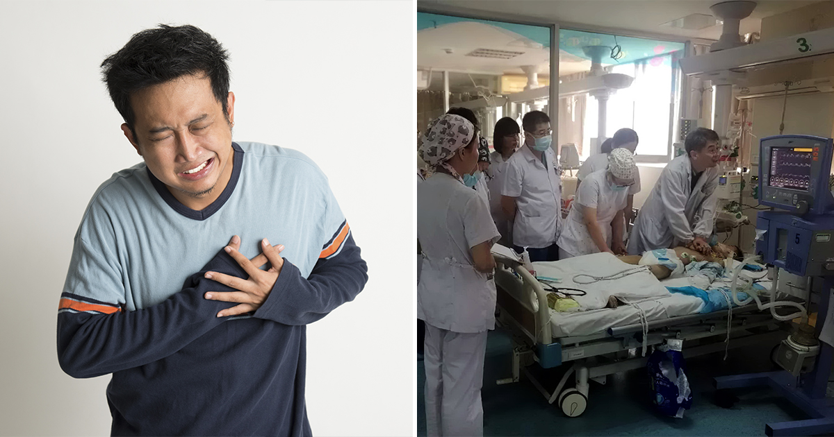 Фото 30 китайских врачей пять часов по очереди делали мальчику массаж сердца