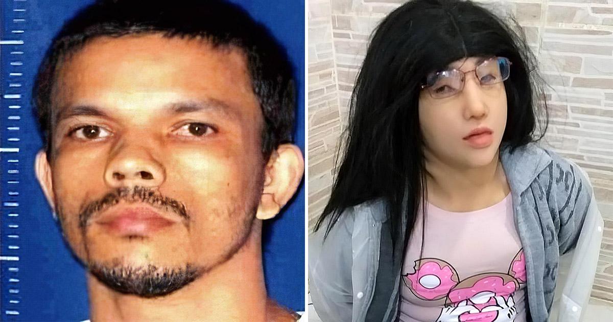Заключенный пытался сбежать из тюрьмы, переодевшись в свою дочку