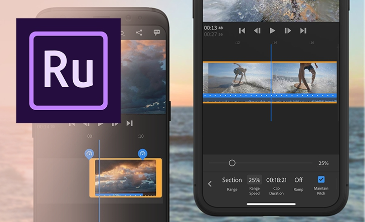 Photo of Adobe adds speed controls to Premiere Rush for epic slow motion and faster action