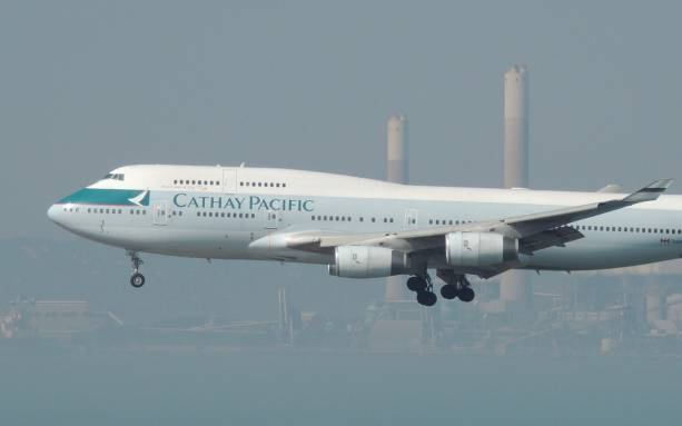 Photo of Cathay Pacific Airways says its uses cameras to record passengers