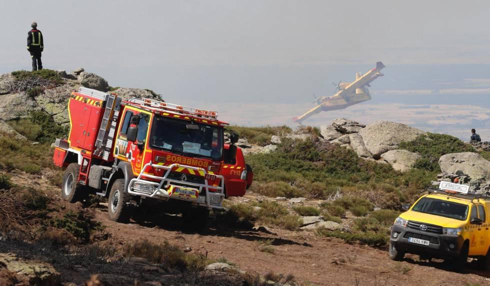 Photo of Los dos incendios de la sierra de Guadarrama fueron intencionados