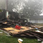 Ohio House Explosion Investigated as Hate Crime After Racist Graffiti Is Found
