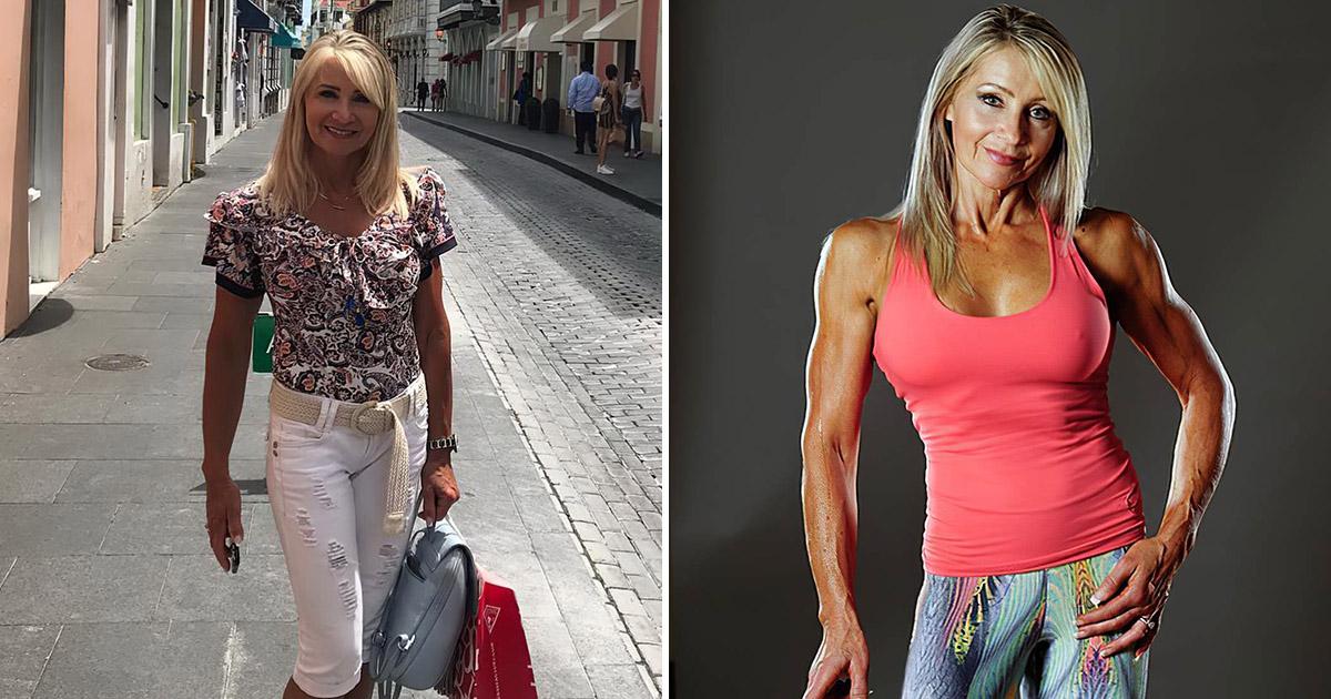61-летняя женщина-качок. Ее мышцам завидуют даже мужчины