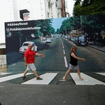 Beatles Fans Come Together on Abbey Road for a 50-Year Anniversary