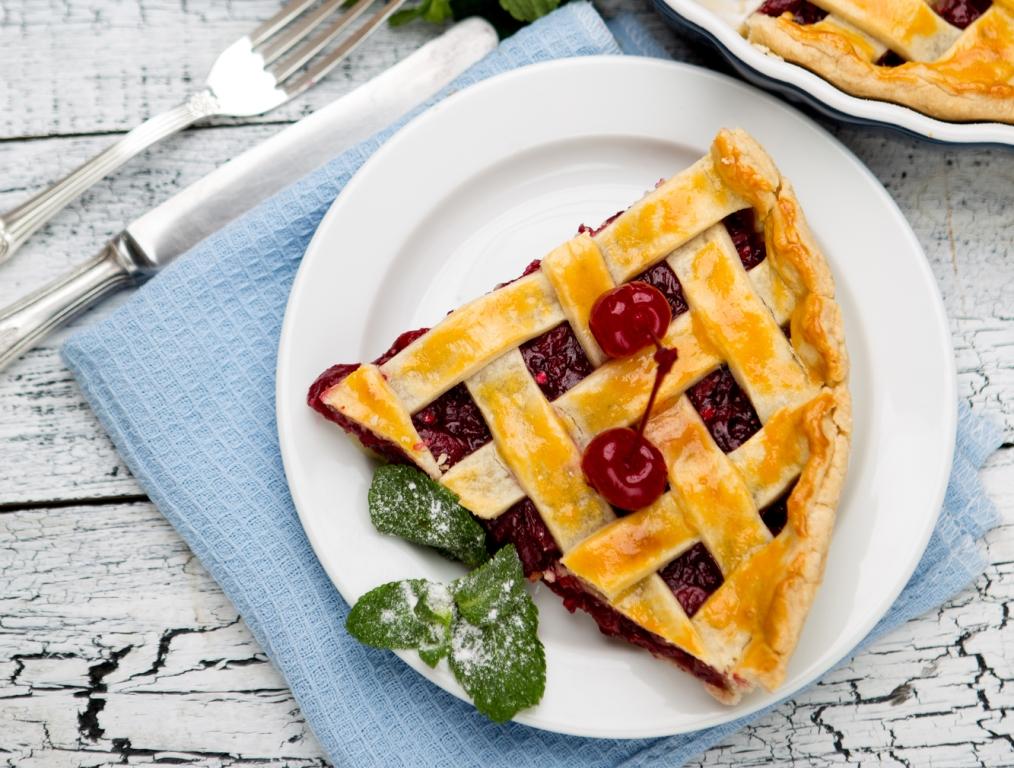 Вкуснейший вишнёвый пирог