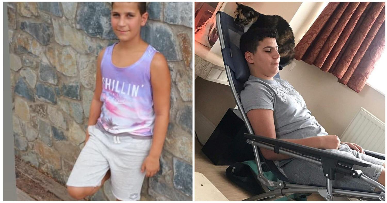 Неизвестная болезнь парализовала шестнадцатилетнего парня