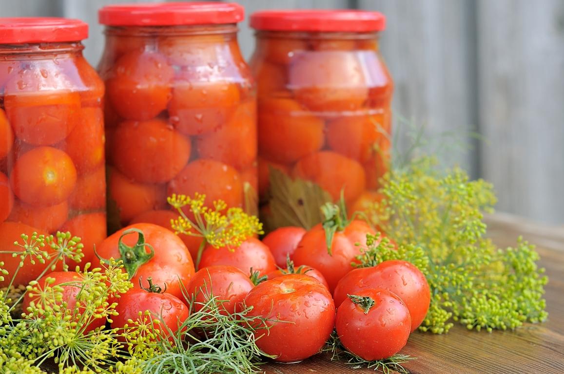Домашние маринованные помидоры