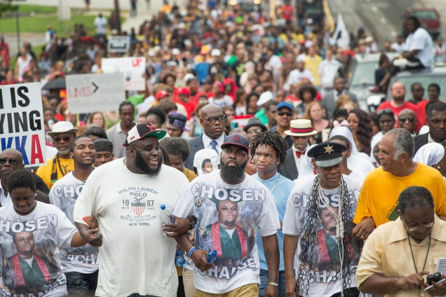 Photo of Mike Brown's Death Changed the World, but Local Activists Say It Hasn't Changed Ferguson