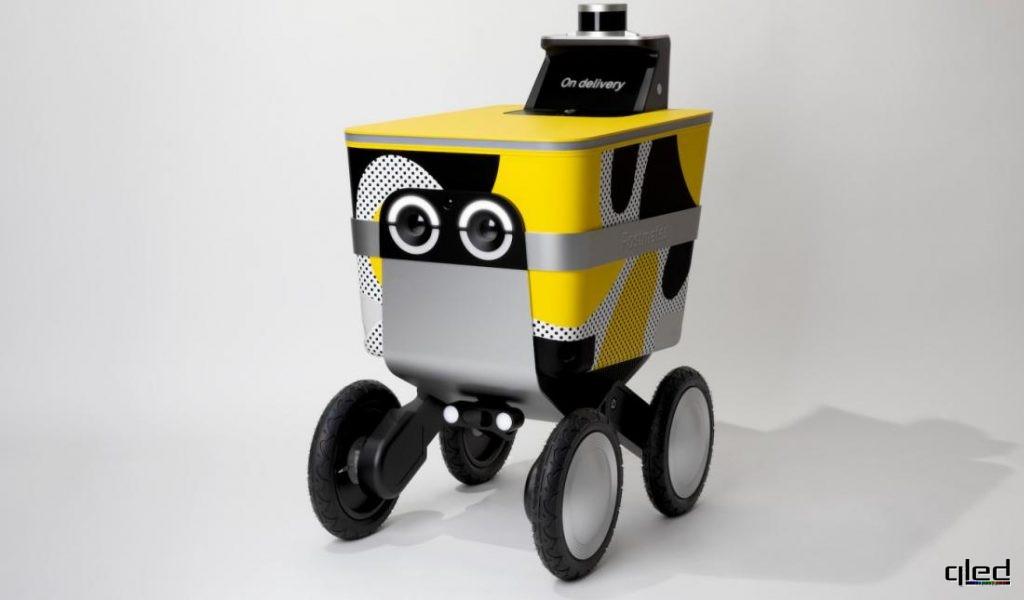 Фото Postmates будет тестировать в Сан-Франциско роботов-доставщиков