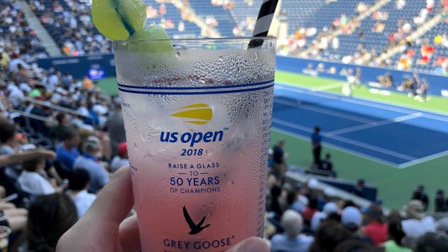 Photo of PSA: You Probably Have Access To Free Snacks and Drinks at the U.S. Open. Just Check Your Wallet.