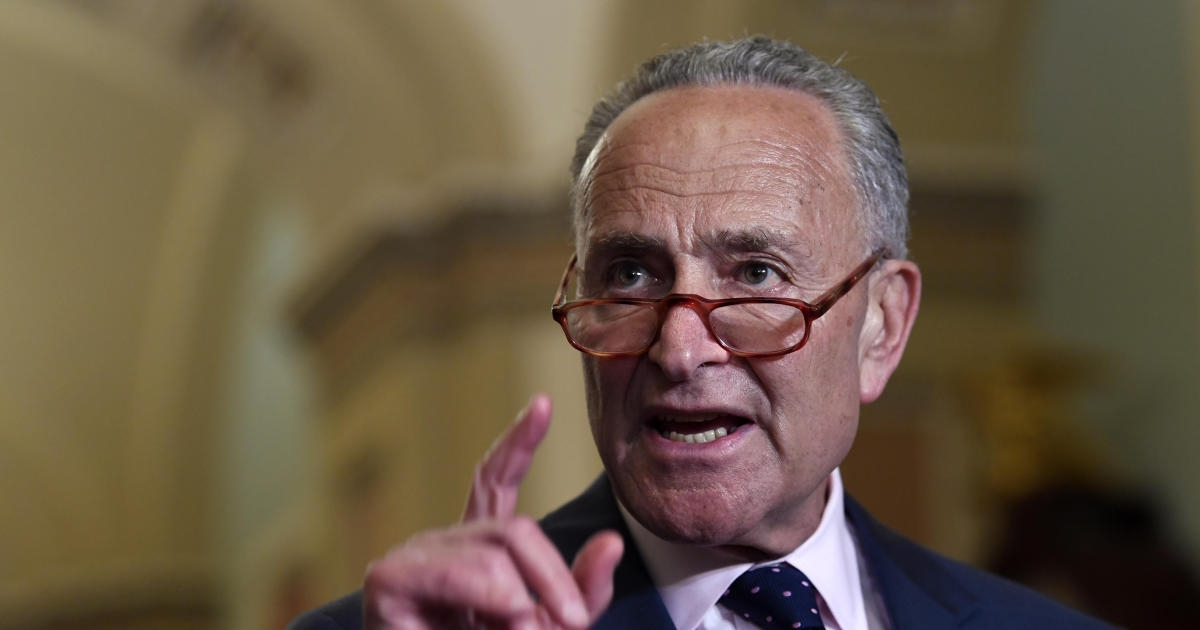 Photo of Schumer says border wall money should be used to fight gun violence