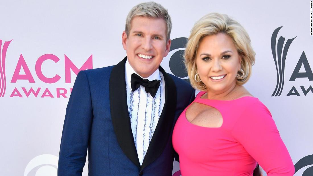 Photo of Todd and Julie Chrisley indicted on tax evasion charges
