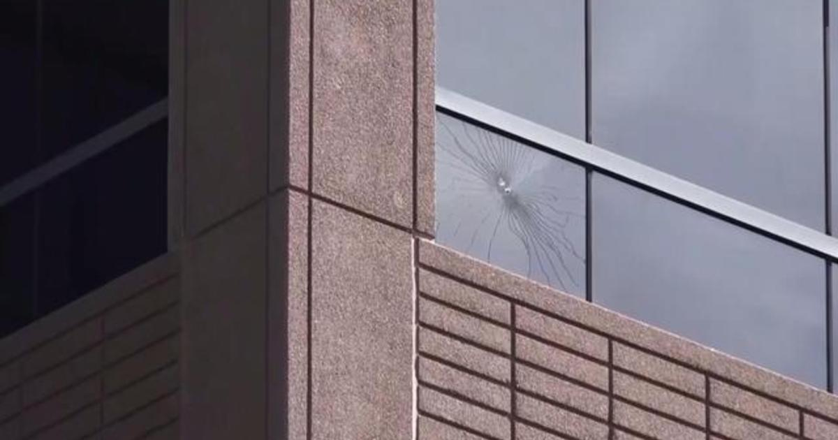 Photo of FBI investigating after shots fired at Texas ICE building